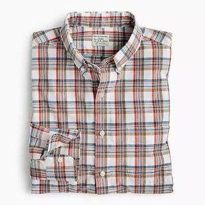New J Crew Secret Wash Slim Stretch Shirt